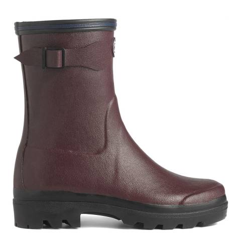 Le Chameau Women's Cherry Giverny Low Boots