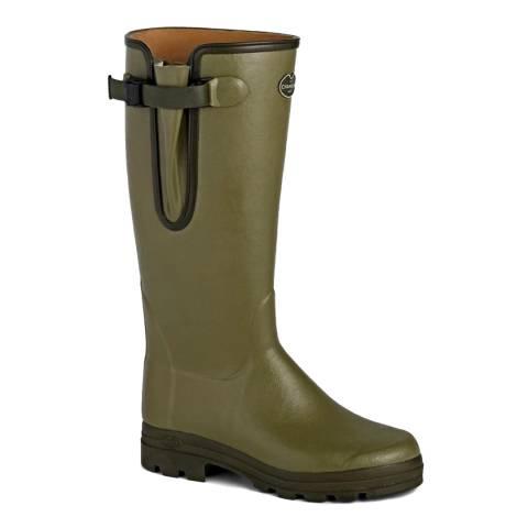 Le Chameau Women's Green Vierzon Boots