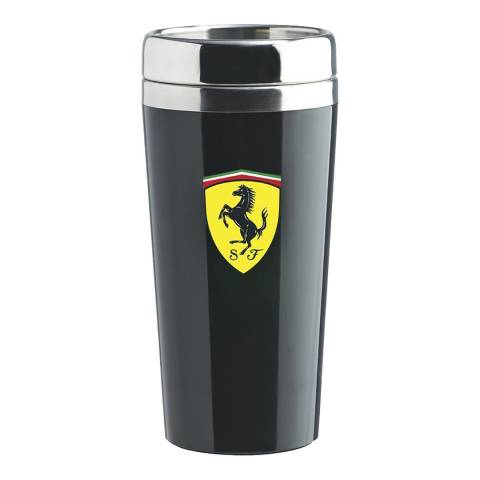 Scuderia Ferrari Black Travel Mug
