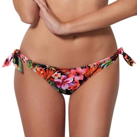 Boux Avenue Black Mix Polynesia Floral Tie Side Brief