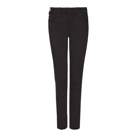 NYDJ Black Sheri Slim Ankle Jeans