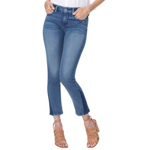 NYDJ Blue Wishful Sheri Ankle Jeans