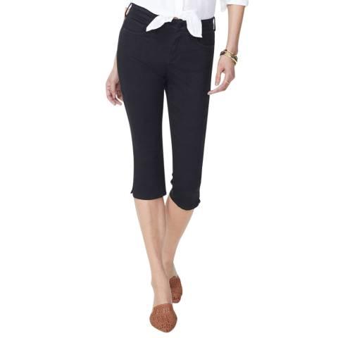 NYDJ Black Skinny Capri Jeans