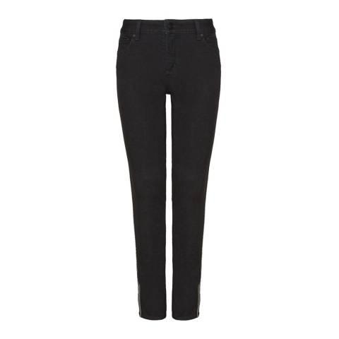 NYDJ Black Rinse Alina Ankle Jeans