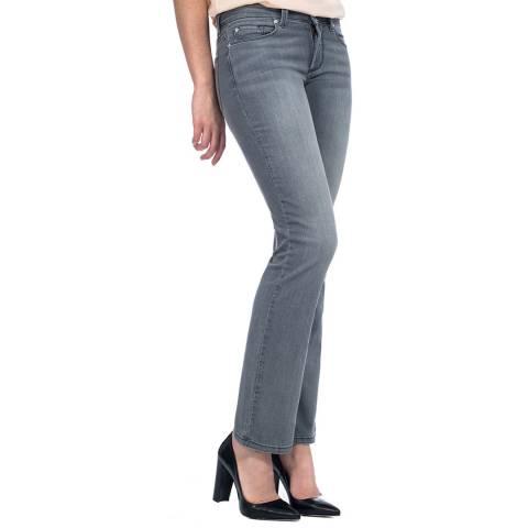 NYDJ Pearl Grey Billie Bootcut Stretch Jeans