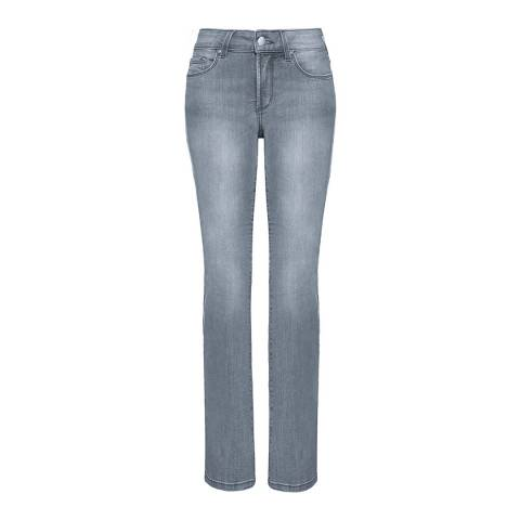 NYDJ Pearl Grey Marilyn Straight Jeans