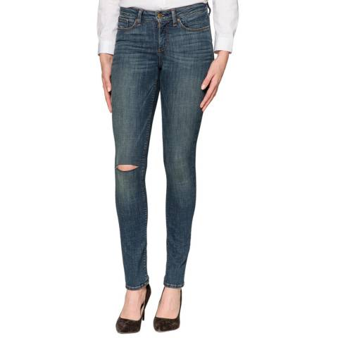 NYDJ Mid Blue Parker Slim Jeans