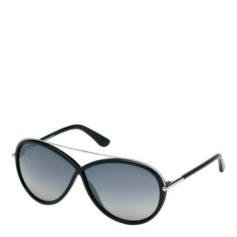 Tom Ford Women's Black Tamara Sunglasses 64mm