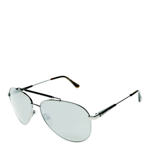 Tom Ford Men's Silver Rick Sunglasses 62mm