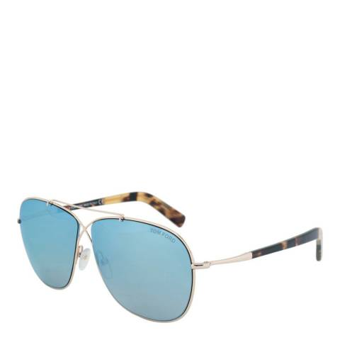 Tom Ford Women's Gold/Tortoise Iva Sunglasses 62mm