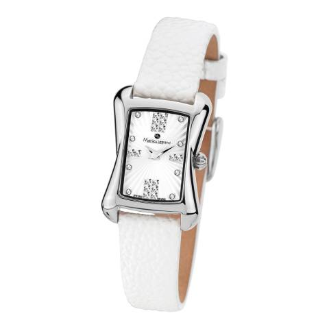 Mathieu Legrand Women's White Damenuhr Papillon Watch