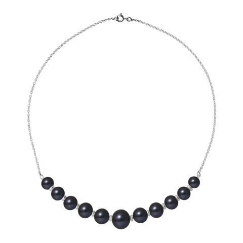 Atelier Pearls Black Tahitian Freshwater Pearl Necklace