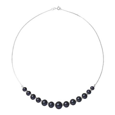 Atelier Pearls Black Freshwater Pearl Necklace