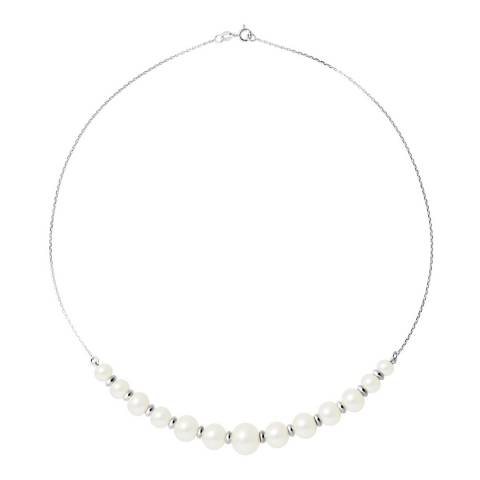 Atelier Pearls White Freshwater Pearl Necklace