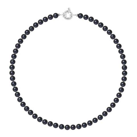 Atelier Pearls Black Tahitian Freshwater Pearl Necklace