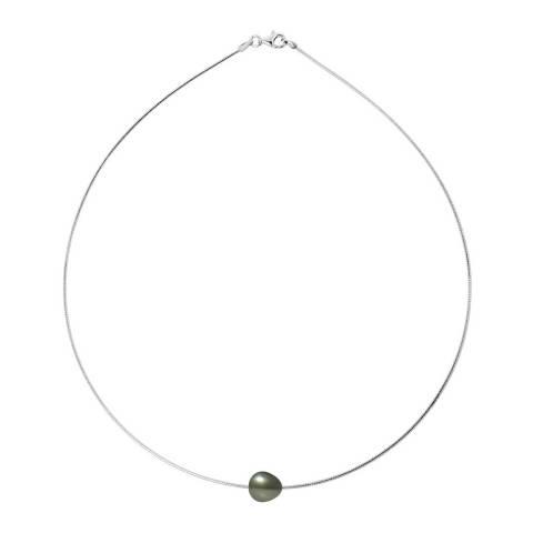 Ateliers Saint Germain Silver Omega Tahiti Pearl Necklace