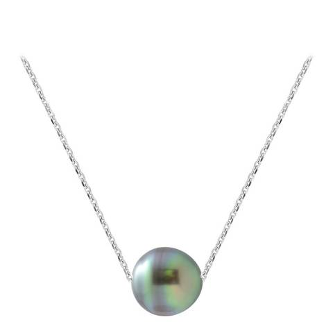 Ateliers Saint Germain Silver Tahiti Pearl Necklace 8-9mm