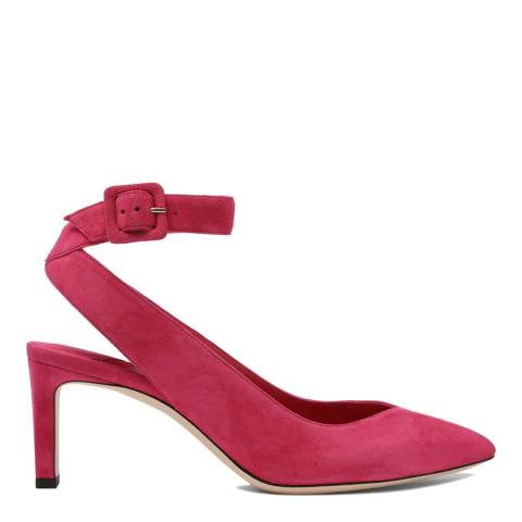 Jimmy Choo Cerise Suede Lou 65 Pumps