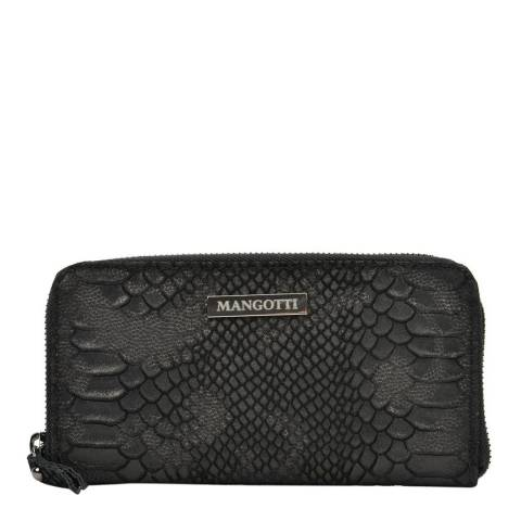 Mangotti Bags Women's Black Mangotti Bags Clutch