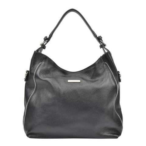 Mangotti Bags Women's Black Mangotti Bags Hobo Bag