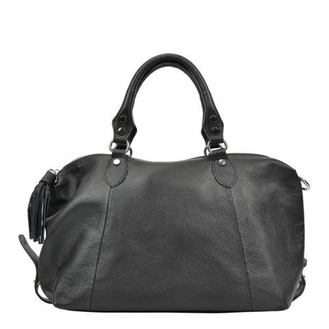 Mangotti Bags Women's Black Mangotti Bags Top Handle Bag