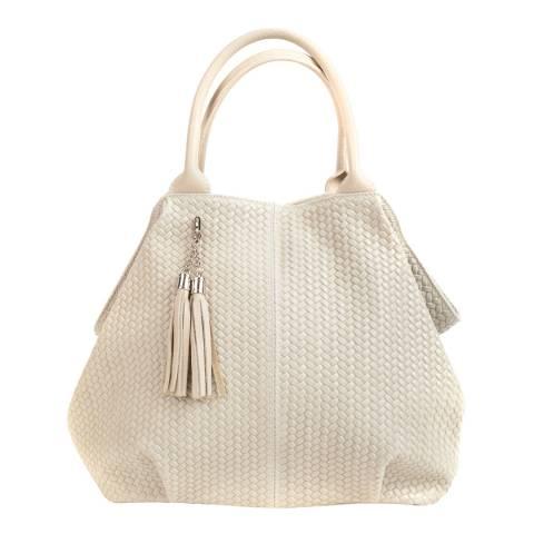 Mangotti Bags Beige Leather Hobo Bag