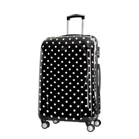 Platinium Black Phuket 8 Wheeled Suitcases 60cm