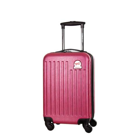 Cabine Size Fuchsia Arial 4 Wheeled Cabin Suitcase 45 cm