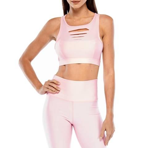 Electric Yoga Pink Slash Bra