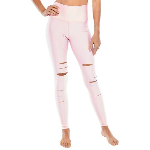 Electric Yoga The Pink Slash Leggings