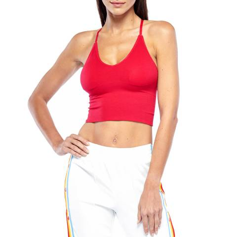 Electric Yoga Red Soft Seamless Bra