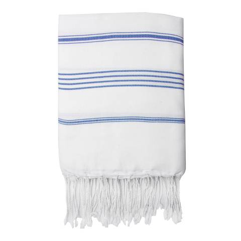Febronie Mykonos Hammam Towel, Greek Blue