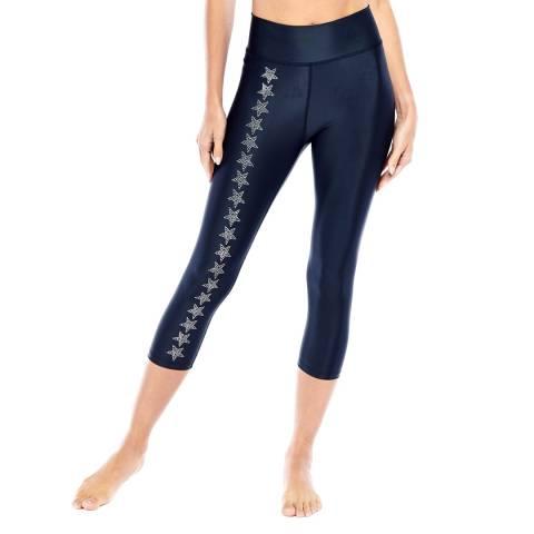 Electric Yoga Silver Orion's Capri Legging