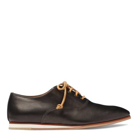 Tod's Women's Brown Leather Lace Up Shoes
