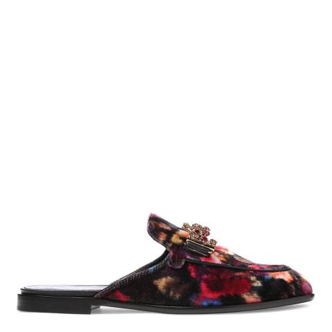 Tod's Women's Watercolour Velvet Mules