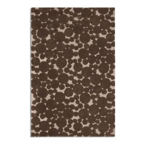 Plantation Rug Company Chocolate Bubbles Rug 120x170cm
