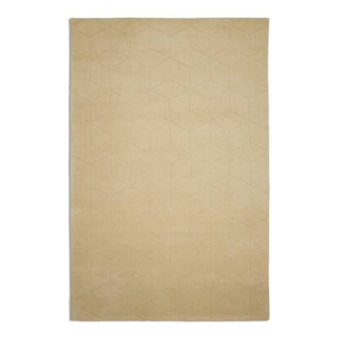 Plantation Rug Company Yellow Illusory Rug 120x170cm