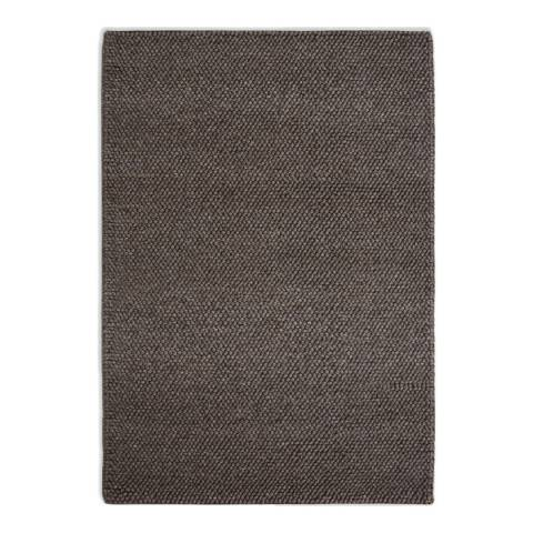 Plantation Rug Company Brown Loopy Rug 120x170cm