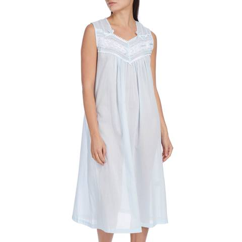Pale Blue Deluxe Highback Nightdress - BrandAlley bf4e291cd
