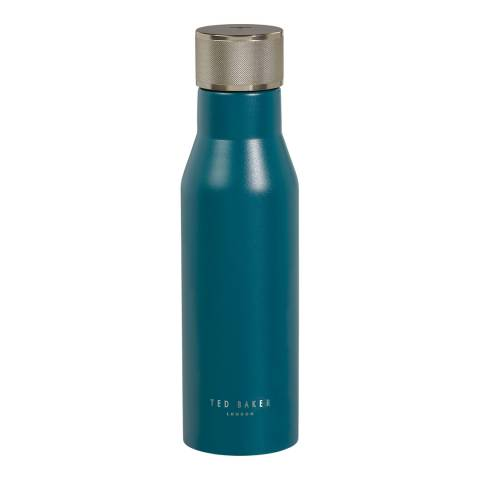 Ted Baker Emerald Green Water Bottle Knurled Lid