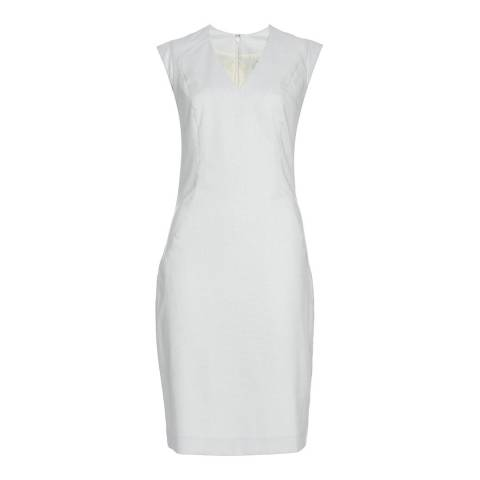 Reiss Light Blue Camilla Tailored Dress