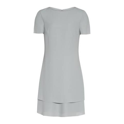 Reiss Blue Cindy Layered Dress