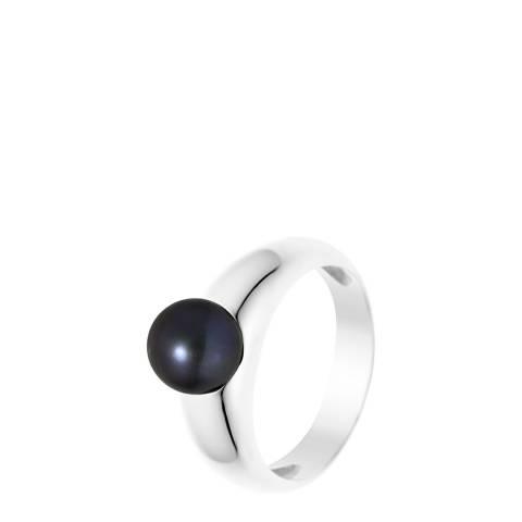 Mitzuko Black/Silver Pearl Ring