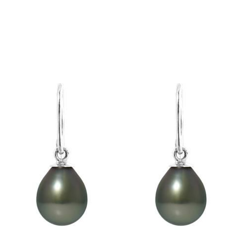 Mitzuko Grey Tahitian Pearl Earrings