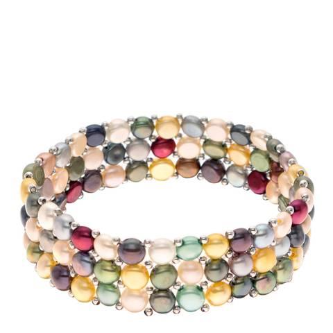 Mitzuko Multi Coloured Pearl Bracelet