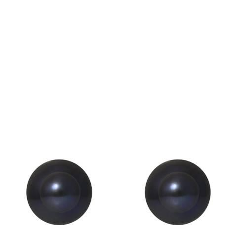 Mitzuko Black Pearl Stud Earrings