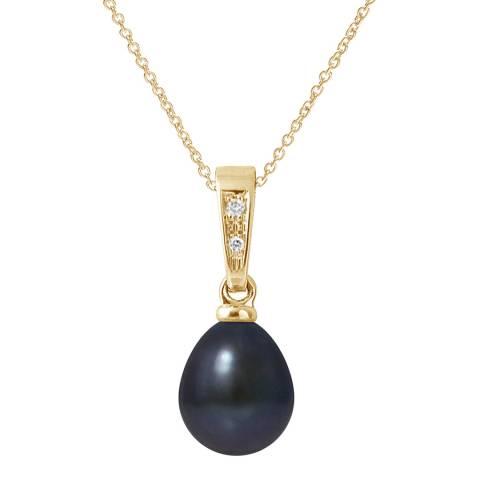 Mitzuko Black Pearl Necklace