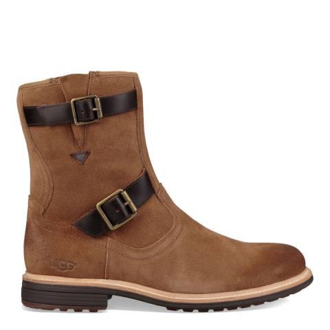 UGG Chestnut Suede Jaren Boots