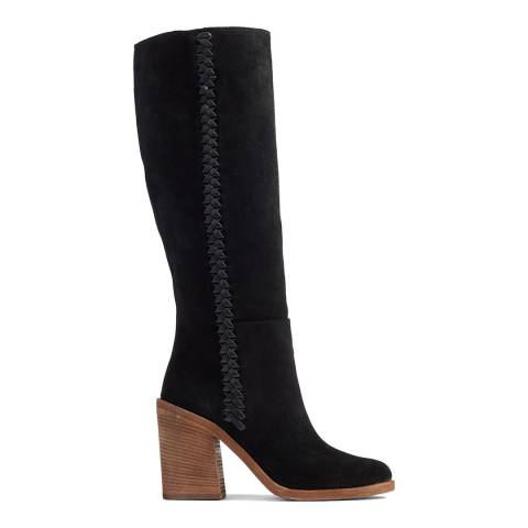 UGG Black Suede Maeva Boots