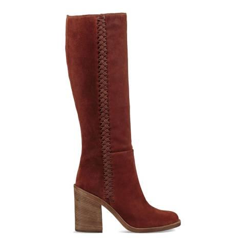 UGG Mahogany Suede Maeva Tall Boots